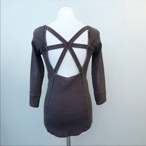 Free People Size Small Thermal Shirt